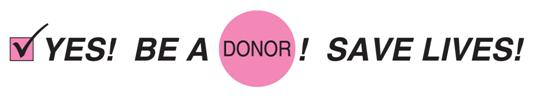 Banner be a Donor