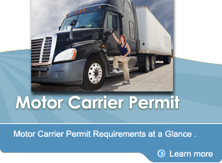 Motor Carrier Permit