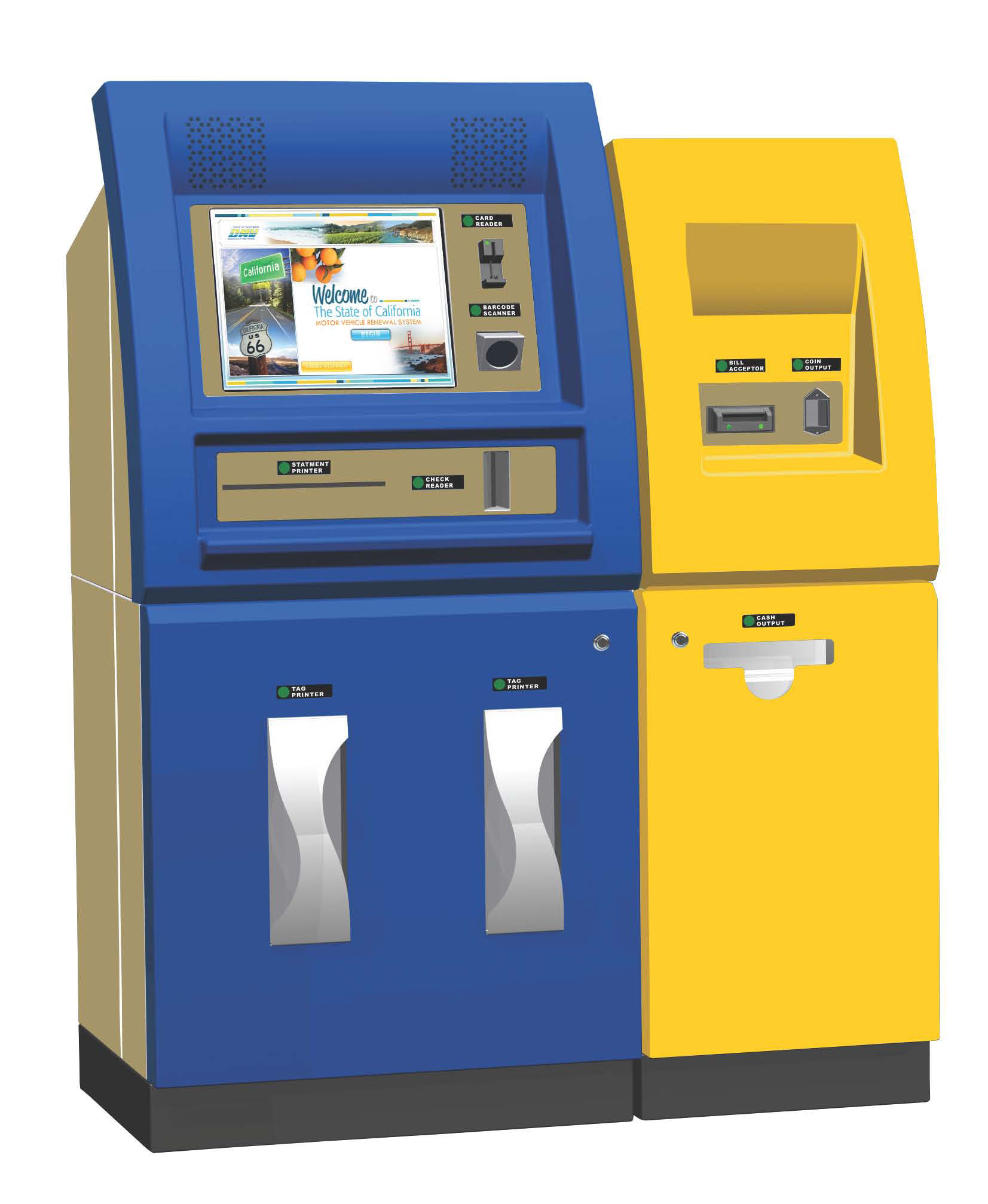 Picture of Self Service Terminal.