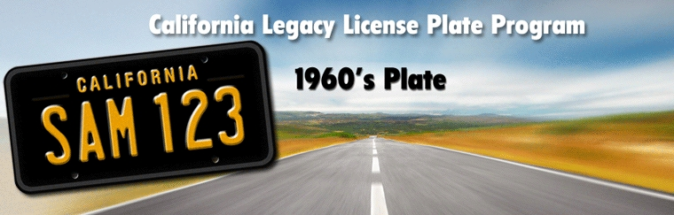 Order your Vintage License plate today