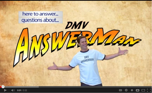DMV Answerman video