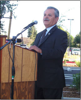 A picture of DMV Director George Valverde