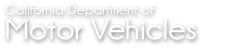 California Department of Motor 