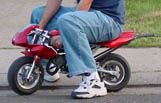 photo of pocket bike