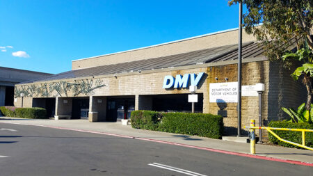 Los Angeles California Dmv