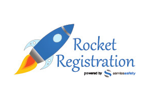 Logo for Rocket Registration