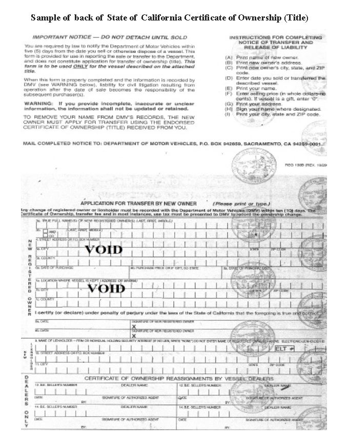 titleback - Ms Motor Boat Registration Application